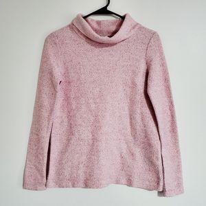 NWT J. Crew Light Pink Mock Neck Sweater